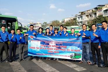 Thanh niên công nhân SAMCO sôi nổi thực hiện các hoạt động ra quân Tháng Thanh ...