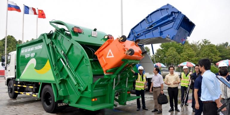 """SAMCO tham gia triển lãm tại hội thảo """"Chất lượng công tác vệ sinh môi trường đô thị"""""""