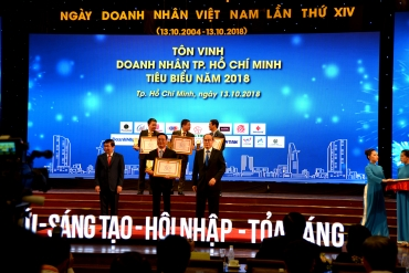 HCM City's 100 typical entrepreneurs honored for 2018