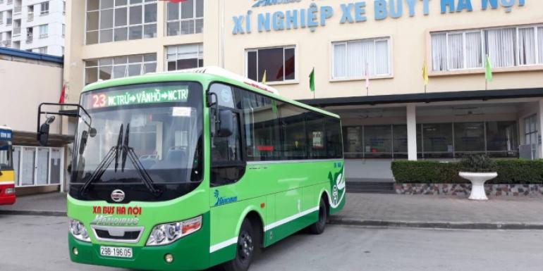 Hà Nội:SAMCO cung cấp 13 xe buýt mới cho tuyến buýt số 23