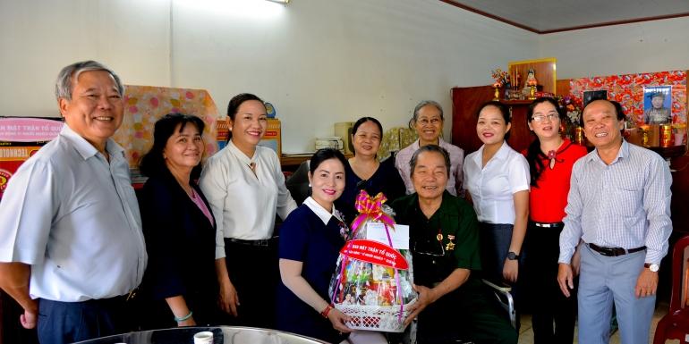 SAMCO thăm và tặng quà các Thương binh nặng tại Quận 9