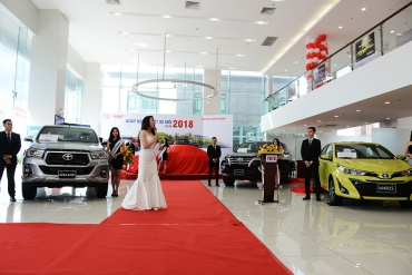 TOYOTA BEN THANH LAUNCHES ITS NEW VEHICLE MODELS 2018