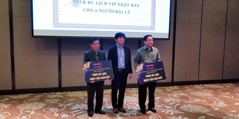 Isuzu An Lạc đạt giải Đại lý Xuất sắc nhất khu vực Miền Nam  và Top 2 toàn quốc năm 2018