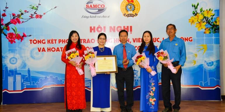 Hội nghị tổng kết phong trào CNVC-LĐ và hoạt động Công đoàn Tổng Công ty SAMCO năm 2018 và nhiệm vụ trọng tâm năm 2019