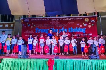 """Đoàn Thanh niên Tổng Công ty SAMCO  tổ chức Chương trình """"Trung thu yêu thương"""" ..."""