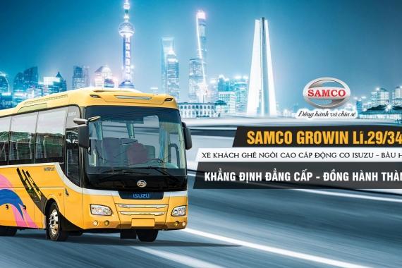 SAMCO GROWIN LI.29/34 - XE KHÁCH GHẾ NGỒI CAO CẤP 2020