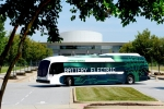 Xe buýt điện đi được 415 km trong một lần sạc