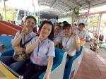 SAMCO- Hỗ trợ 2 xe khách đưa rước  cho 120 học sinh của trường Giáo dục Chuyên ...