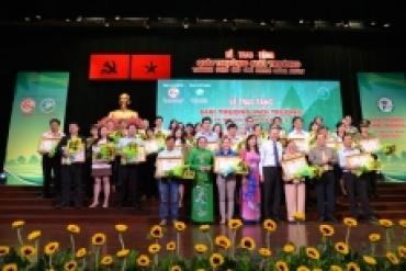 SAMCO- Nhận giải thưởng môi trường Thành phố Hồ Chí Minh năm 2016