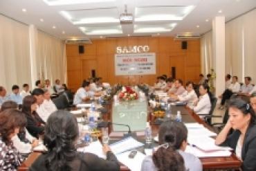 Hội nghị Ban chấp hành Đảng bộ Tổng công ty SAMCO