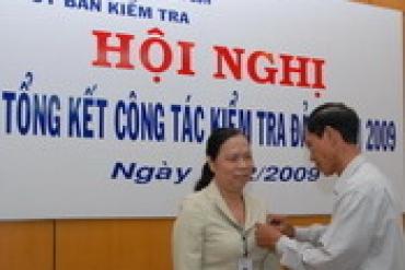 Tổng công ty SAMCO tổ chức Hội nghị Tổng kết Công tác Kiểm tra Đảng năm 2009