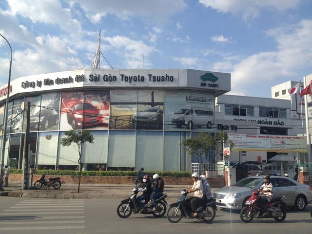 Công ty TNHH Dịch vụ ôtô Sài Gòn Toyota Tsusho (TT SAMCO)